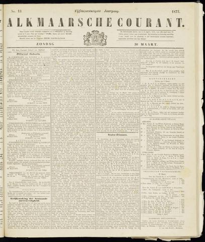 Alkmaarsche Courant 1873-03-30