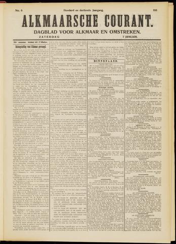 Alkmaarsche Courant 1911-01-07