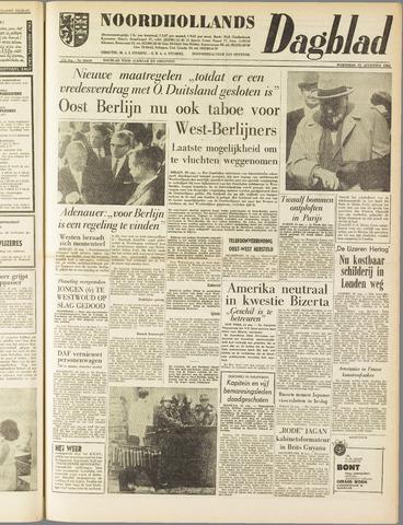 Noordhollands Dagblad : dagblad voor Alkmaar en omgeving 1961-08-23