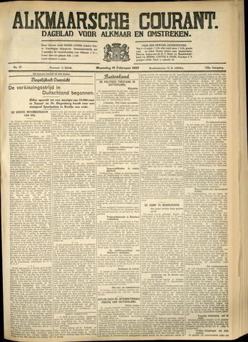 Alkmaarsche Courant 1933-02-13