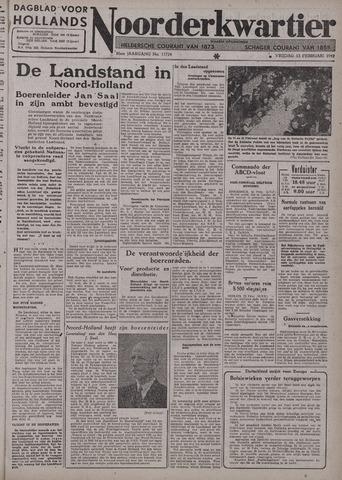 Dagblad voor Hollands Noorderkwartier 1942-02-13