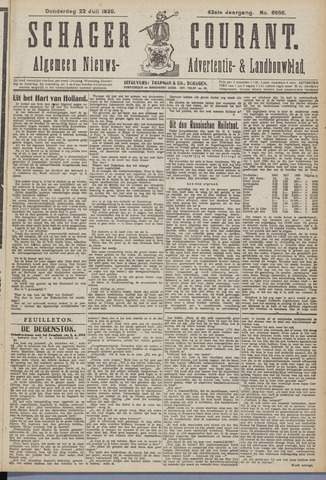 Schager Courant 1920-07-22
