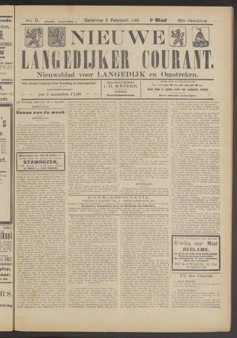 Nieuwe Langedijker Courant 1921-02-05