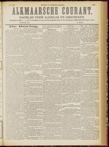 Alkmaarsche Courant 1916-05-09