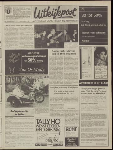Uitkijkpost : nieuwsblad voor Heiloo e.o. 1985-12-27