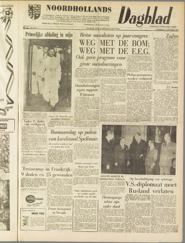 Noordhollands Dagblad : dagblad voor Alkmaar en omgeving 1962-10-06