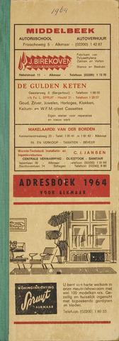 Adresboek van Alkmaar 1964-01-01