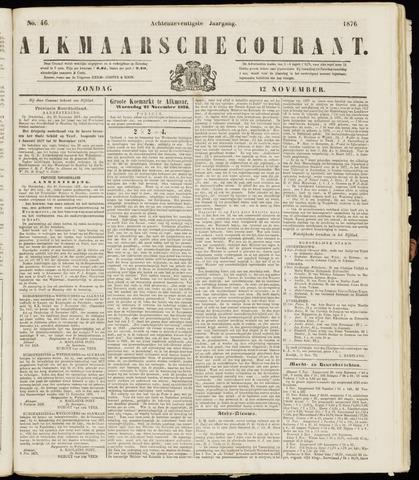 Alkmaarsche Courant 1876-11-12