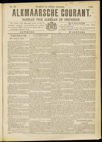 Alkmaarsche Courant 1906-01-27