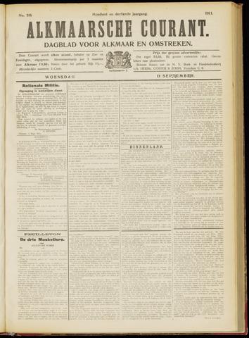 Alkmaarsche Courant 1911-09-13
