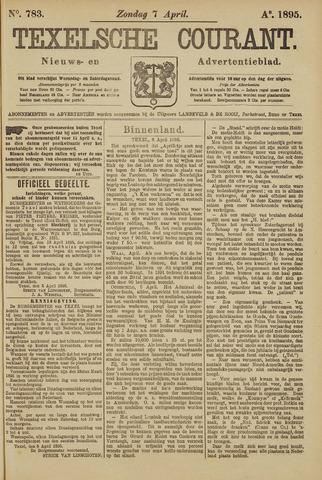 Texelsche Courant 1895-04-07