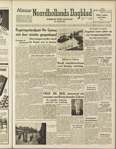 Nieuw Noordhollandsch Dagblad : voor Alkmaar en omgeving 1951-12-07