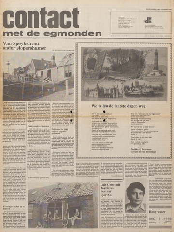 Contact met de Egmonden 1980-12-29