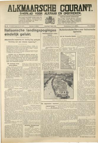 Alkmaarsche Courant 1939-04-08