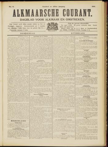 Alkmaarsche Courant 1909-02-18