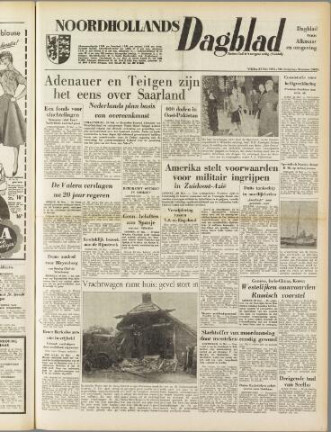 Noordhollands Dagblad : dagblad voor Alkmaar en omgeving 1954-05-21