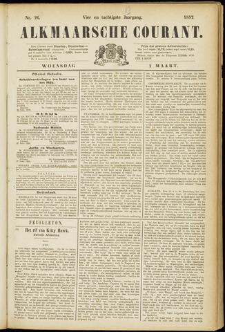 Alkmaarsche Courant 1882-03-01