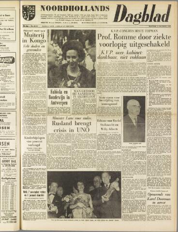 Noordhollands Dagblad : dagblad voor Alkmaar en omgeving 1960-10-24