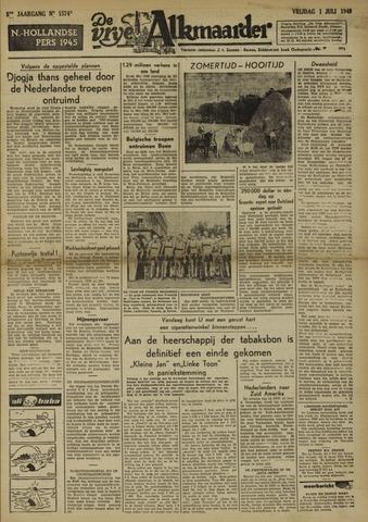 De Vrije Alkmaarder 1949-07-01