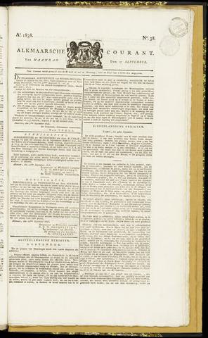Alkmaarsche Courant 1838-09-17