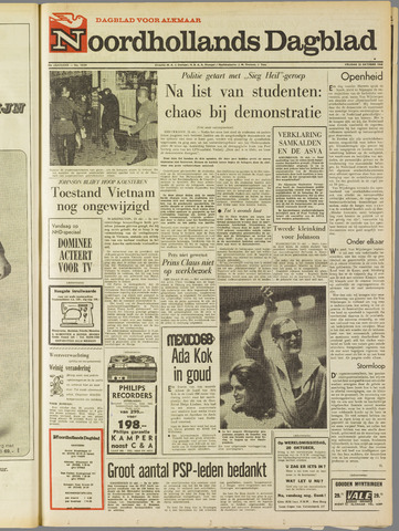 Noordhollands Dagblad : dagblad voor Alkmaar en omgeving 1968-10-25