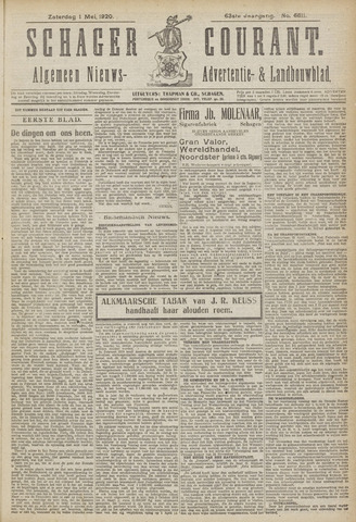 Schager Courant 1920-05-01