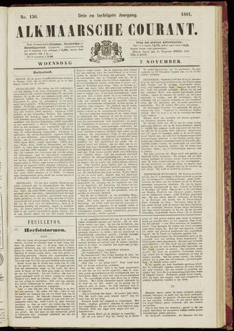 Alkmaarsche Courant 1881-11-02