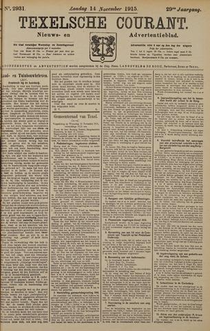 Texelsche Courant 1915-11-14