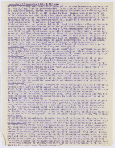 De Vrije Alkmaarder 1943-08-18