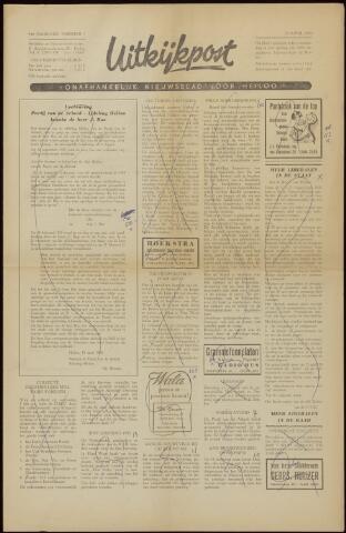 Uitkijkpost : nieuwsblad voor Heiloo e.o. 1958-04-18