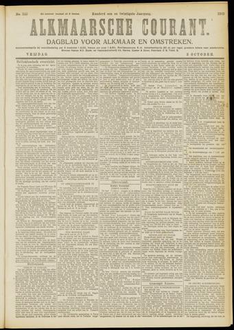Alkmaarsche Courant 1919-10-03