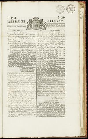 Alkmaarsche Courant 1843-09-18