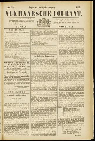 Alkmaarsche Courant 1887-10-30