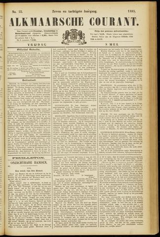 Alkmaarsche Courant 1885-05-08