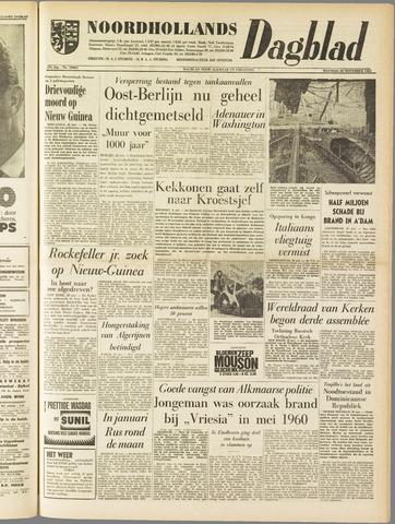 Noordhollands Dagblad : dagblad voor Alkmaar en omgeving 1961-11-20
