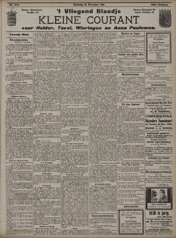 Vliegend blaadje : nieuws- en advertentiebode voor Den Helder 1908-11-28