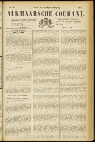 Alkmaarsche Courant 1885-06-12