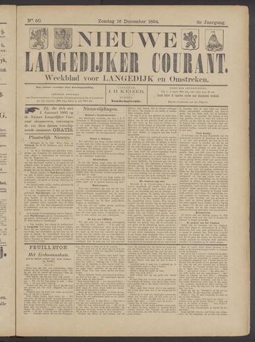 Nieuwe Langedijker Courant 1894-12-16