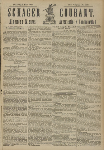 Schager Courant 1911-03-09