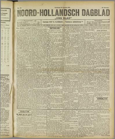 Ons Blad : katholiek nieuwsblad voor N-H 1922-08-24