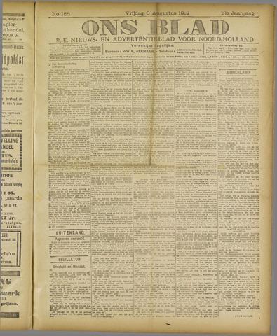 Ons Blad : katholiek nieuwsblad voor N-H 1919-08-08