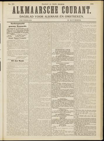 Alkmaarsche Courant 1908-10-31