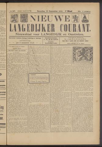 Nieuwe Langedijker Courant 1923-12-15