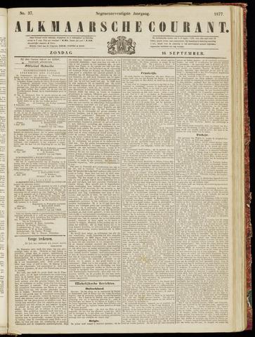 Alkmaarsche Courant 1877-09-16