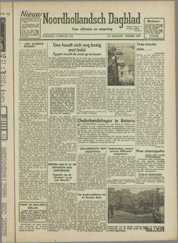 Nieuw Noordhollandsch Dagblad : voor Alkmaar en omgeving 1946-02-13