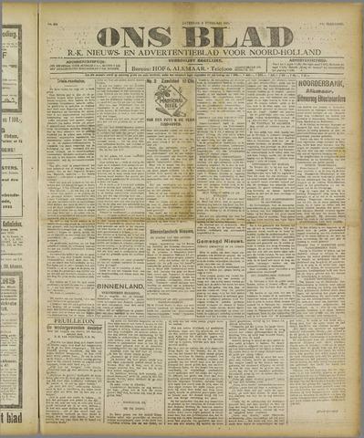 Ons Blad : katholiek nieuwsblad voor N-H 1921-02-05