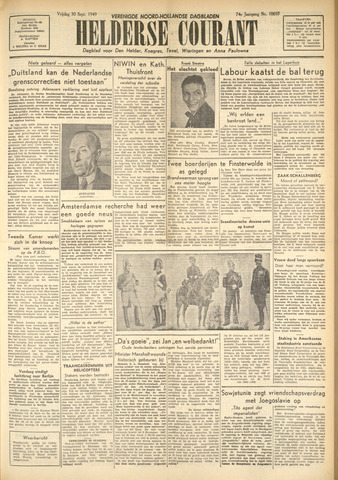 Heldersche Courant 1949-09-30