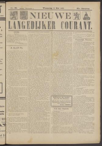 Nieuwe Langedijker Courant 1921-05-11