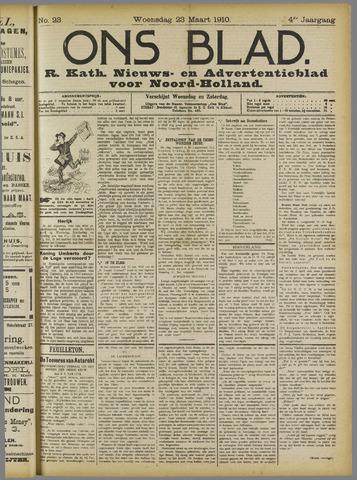 Ons Blad : katholiek nieuwsblad voor N-H 1910-03-23