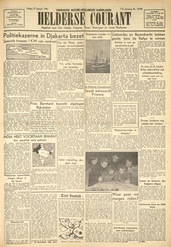 Heldersche Courant 1950-01-27